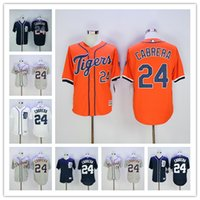 Miguel Cabrera Jerseys 2017 Flexbase White Grey Orange Dark ...