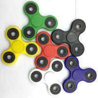 Nouveau HandSpinner doigt spirale gyro doigt beyblade Torqbar spinner EDC main acrylique en plastique Jouets Fidgets portant Gyro avec Retail Box