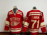 Cheap Dylan Larkin Jersey 2016 Stadium Series Detroit Red Wi...