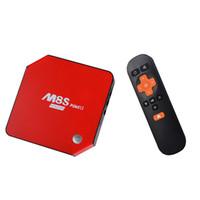 3 GB de RAM 32 GB Amlogic S912 Android 6.0 TV Box M8S Plus II Octa Core 2.4 / 5.8GHz Wifi BT4.0 Kodi 17.0 4K H.265 1000M Smart Media Player MXQ T95