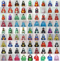 70*70cm Double layer Cape with Mask kids cosplay Superhero C...
