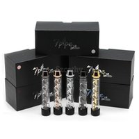 Извилистые Стекло Blunt Трубы курительные трубки сухой травы Испаритель наборы 5 цветов Gift Box Kit высокого качества Клон