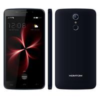 Сенсорный ID HOMTOM HT17 Pro 4G LTE 2 Гб 16 Гб 64-Bit Quad Core MTK6737 Android 6.0 5.5 дюймовый IPS 1280 * 720 HD 16.0MP камера отпечатков пальцев смартфон