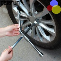 Foldable Portable Cross Socket Wrench Automotive Tires Wrenc...