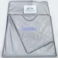 Fat burning Waterproof 2 Zones Far Infrared Blanket Sauna Sl...