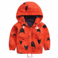 Cartoon Pattern Baby Boy Jacket Autumn New Fashion Brand Kid...