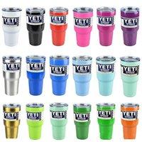 Factory Yeti 10oz 12oz 20 oz 30oz Cups Cooler YETI Rambler T...