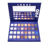 2017 Lorac mega pro 2 Ombre à paupières bleue 32color Palette Shimmer Matte Brands Ombre à paupières Maquillage Yeux Cosmétique