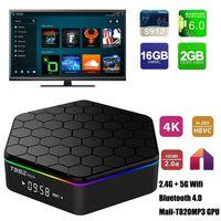 T95Z Plus T95Z+ Amlogic S912 Android TV Box 6. 0 2G 16G Dual ...
