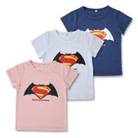 color Cotton short sleeve children t shirts, cute cartoon t-...