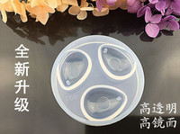1 piece DIY Silicone Pendant Mold high transparency Water Dr...