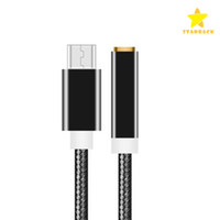 Type C Connector to 3. 5mm Earphone Headphone Audio AUX Jack ...