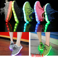2017 Led Shoes Sneakers Lighting Sneakers Casual Shoes Kids ...