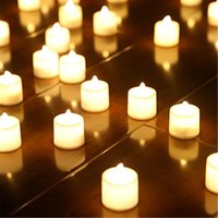 3. 6*4 cm LED Tealight Tea Candles Flameless Light Battery Op...