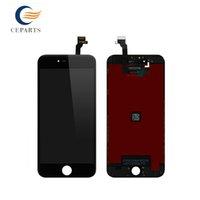 Noir et blanc Écran LCD 100% authentique pour iPhone 6 plus Écran avec numériseur Qualité de remplacement AAA Aucun pixel mort rapide Expédition rapide DHL