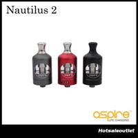 Authentique Aspire Nautilus 2 Réservoir avec un manchon en métal Curvy et conforme à la TPD 2ml e-Juice Capacité 100% Original