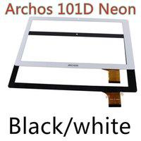 Wholesale- Black white for Archos 101d Neon tablet pc 10. 1&qu...