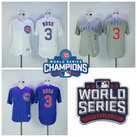 2016 World Series Champions Patch Chicago Cubs 3 David Ross ...