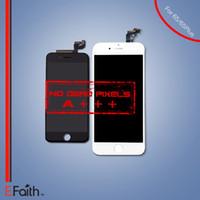 Pièces de rechange pour le numériseur d'écran tactile d'affichage à cristaux liquides pour l'iPhone 6S / 6S de la catégorie A +++ plus l'expédition LIBRE de DHL