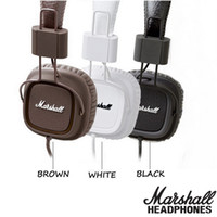 Marshall Major fones de ouvido com microfone Deep Bass DJ Hi-Fi Headphone HiFi Headset Professional DJ Monitor Headphone