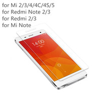 Wholesale- 2. 5D 0. 3mm 9H Premium Tempered Glass for Xiaomi Re...