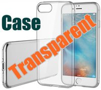 DHL pour iPhone 7 S8 S8 Plus Soft TPU Ultra mince 1 mm Clear Iphone 6 6s Case Doux Transparent Gel Case Note 5 Back Case Opp Bag E-SW