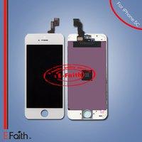 Écran à cristaux liquides Écran tactile Numériseur Assemblage complet pour iPhone blanc 5C Remplacement complet de l'écran