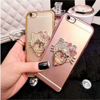 Hellokity Cat Cell Phone Ring Holder Four Colors Universal P...