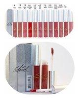 HOT new Makeup Lipstick Matte Lipstick Lip Gloss 12 color DH...
