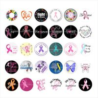 Free shipping Faith Ribbon snap button jewelry charm popper ...