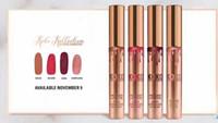 KOKO KOLLECTION or anniversaire limitée maquillage 4pcs / set KYLIE Liquide lustre mat de lèvre rouge à lèvres par kylie cosmétiques set DHL Livraison gratuite