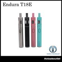 Original Innokin iTaste Endura T18 Kit de démarrage / Innokin Endura T18E Kit de démarrage avec 1000mAh Batterie 2ml Top Refilling Atomizer