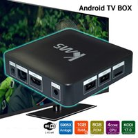 KM5 Android 6. 0 TV Box Quad core Amlogic S905X Digital TV Bo...