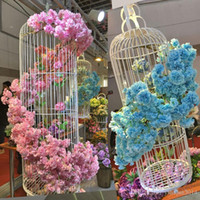 Artificial Wisteria Flower Garland Branch Wedding Decoration...