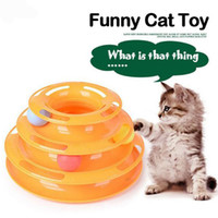 2017 New Three- tier Intelligence Crazy Play Plate Cat Track ...