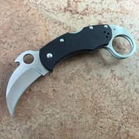 spider karambit folding knife pocket utility camping knife X...