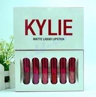 HOT Kylie Cosmetics Valentine' s Day Red Mini Mattes Liq...