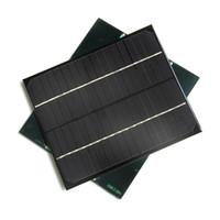 Горячий! 6W 18V Monocrystalline модуль солнечной батареи модуля DIY солнечный заряжатель панели солнечный высокое качество новое освобождает перевозку груза