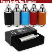 Original Yocan Evolve Plus Atomiseurs Cire Vaporisateur herbal Vapeur herbe sèche 510 ego Evolve Batterie Quartz Dual Coils QDC e réservoir de cigarettes DHL