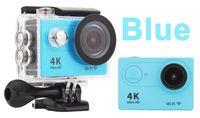 4K Ultra HD1080P 30fps 12MP 170 degrés grand angle WiFi Sport action caméra DV plongée étanche DVR casque vidéo caméscope H9