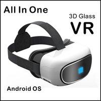 Tout en un VR BOX avec 1080 P plein écran HD Lunettes 3D pour lunettes vidéo Support TF Card Bluetooth 5.1