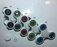 HandSpinner 3D impressão EDC Fidget Spinner Toy para descompressão Ansiedade Brinquedos Brinquedos de aço inoxidável sem caixa 50pcs OOA1096