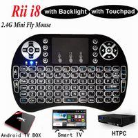 Rii Mini i8+ Keyboard Backlight English For Android TV Box R...