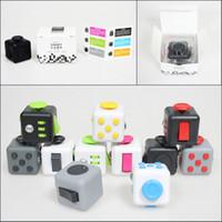 В наличии 11 цветов успокаивающие Непоседа Куб Магия декомпрессионной Игрушка взрослых Стресс помощи Детские игрушки подарка Быстрая перевозка груза DHL