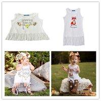 Ins 2016Summer Baby Girls Tassels Dress Kids Sleeveless Dres...