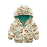 90- 120cm Fashion Brand Spring Jackets Cotton Kids Jacket Tod...