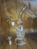 Nouveau verre recycler bongs de verre Faberge Egg Water Pipes Oil Rigs avec la meilleure qualité de verre épaisse bong bubbler