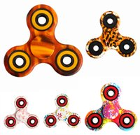 Latest Design Camouflage Leopard Triangle Hand Spinner ABS F...