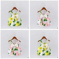 Baby Clothes Girl Dresses Condole Belt 2017 Summer Baby Big ...