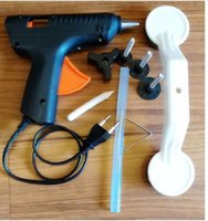 utility 220v Car Dent Remover Puller Bridge Set & Glue Gun P...